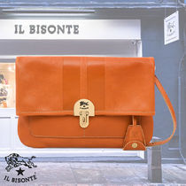 IL BISONTE(イルビゾンテ) クラッチバッグ 【関税込/VIP割】IL BISONTE(イルビゾンテ)/BADIAクラッチバッグ
