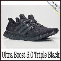 ★【adidas】入手困難 アディダス Ultra Boost 3.0 Triple Black
