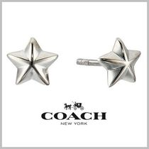 限定SALE★COACH Sterling Star Stud Earrings★送料込