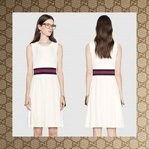 ☆ GUCCI Felted jersey pleated dress