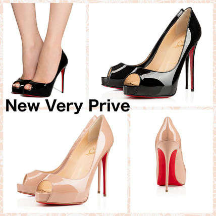 Christian Louboutin パンプス 【ルブタン】 不動の人気☆New Very Prive-120mm パテントレザー