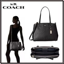【SALE】*COACH*Stamped Snakeskin トート★関税・送料込★