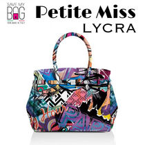 【国内発送】SAVE MY BAG Petite Miss LYCRA GRAFFITI★Sサイズ