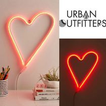 Urban Outfitters(アーバンアウトフィッターズ) 照明 Urban Outfitters ハート型LEDネオンサイン