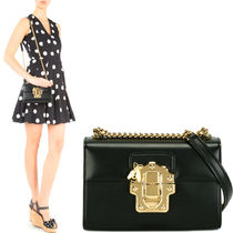 17SS DG1032 LUCIA SMALL SHOULDER BAG WITH CHAIN STRAP