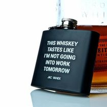 Jac Vanek WHISKEY WILDIN' FLASK