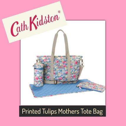 Cath Kidston / Nappy Bag / PAINTED TULIPS MOTHERS TOTE BAG