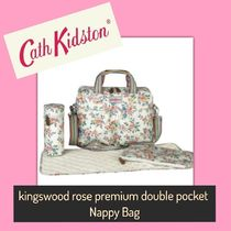 Cath Kidston /Nappy Bag/KINGSWOOD ROSE PREMIUM DOUBLE POCKET