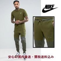 Nike(ナイキ) パンツ Nike Air Joggers In Tapered Fit In Green♪