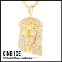 【King Ice】Gold Jesus Pieceネックレス★送料税込/国内発送