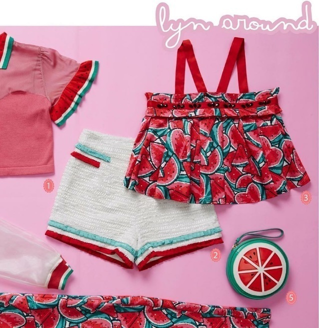LYN Around Set of Top and Shorts(New / Size XS)