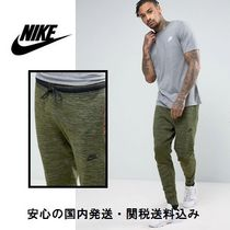 Nike(ナイキ) パンツ Nike Tech Knit Joggers In Tapered Fit In Green♪