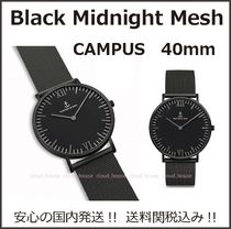 送料&税込【Kapten&Son】Black Midnight Mesh 40mm★国内発送