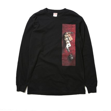 在庫有り★送料込み★Supreme Mike Hill Snake Trap L/S Tee Blk