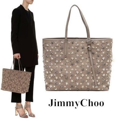 JIMMYCHOO SASHA M LIGHTMOCHA/METALLICMIX