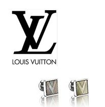 Louis Vuitton(ルイヴィトン) ファッション雑貨・小物その他 【Louis Vuitton】カフス正規店ギフトBOX付★V SHADOW