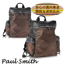 Paul Smith(ポールスミス) バックパック・リュック 【関送込】Paul Smith 新作★バイカラー ナイロン バックパック
