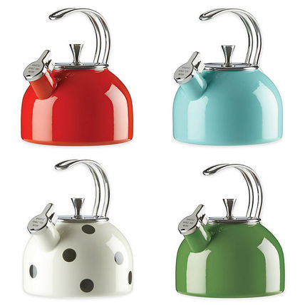 kate spade new york 調理器具 追跡・補償あり【宅配便配送】All in Good Taste Tea Kettle