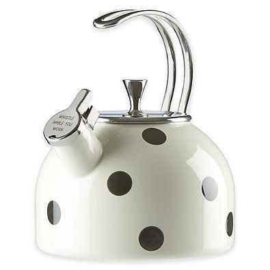kate spade new york 調理器具 追跡・補償あり【宅配便配送】All in Good Taste Tea Kettle(4)
