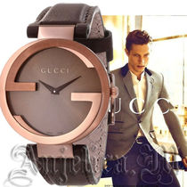 ★関税・送料込★GUCCI nterlocking G Brown Dial YA133207
