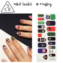 3 CONCEPT EYES(スリーコンセプトアイズ) ネイルアート・チップ 3CE■超簡単! 可愛いネイルルックス/Nail Looks_Rugby