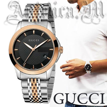 GUCCI Timeless Men's Watch YA126410