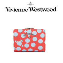 Vivienne Westwood ★ DOTMANIA RED 折りたたみ財布