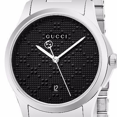★関税・送料込★GUCCI G-Timeless Black Dial  YA126460