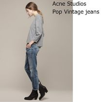 ACNE Pop Dark Vintage Cropped jeans ヴィンテージジーンズ
