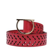 Salvatore Ferragamo(サルヴァトーレフェラガモ) ベルト ☆国内発☆Salvatore Ferragamo/Gancio Perforated Belt