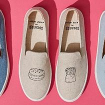 SOLUDOS(ソルドス) スニーカー 送料無料☆Soludos Fast Food Linen Skate Sneakers