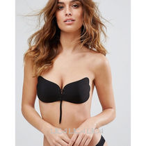 ASOS(エイソス) ブラジャー 国内発送ASOS Lace Up Cleavage Boost Backless Stick On Bra