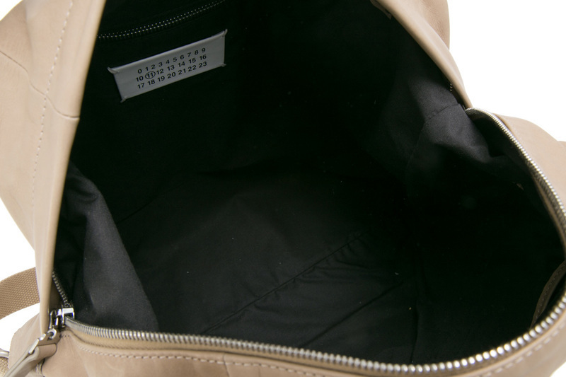 Maison Margiela 17SS Sailor 2WAYレザーショルダー/トート_BEIG