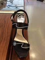 SALE◆◇◆Christian Dior Black Paradise Wedge Sandals ◆◇◆