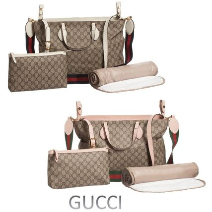 2017SS新作【GUCCI】GGロゴ マザーズバッグ 2色 送料・関税込♪