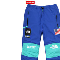 大人気コラボ☆L Supreme x TNF Gore Tex Pants/ BLUE