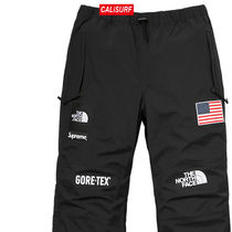 大人気コラボ☆M Supreme x TNF Gore Tex Pants/ BLACK