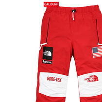 大人気コラボ☆M Supreme x TNF Gore Tex Pants/ RED