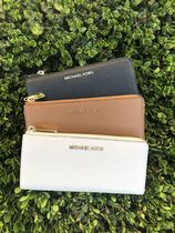 即発◆3-5日着】MICHAEL KORS◆BEDFORD THREE QTR◆L字型長財布