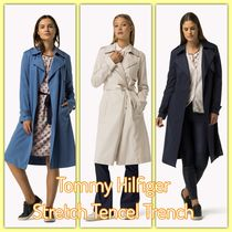 Tommy Hilfiger(トミーヒルフィガー) トレンチコート Tommy Hilfiger /Stretch Tencel Trench (ストレッチ☆トレンチ)