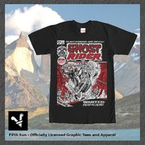 Tシャツ・カットソー MARVEL◆Tシャツ◆Ghost Rider Flames