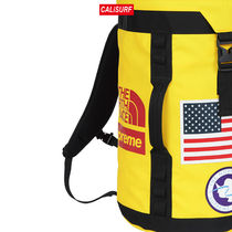 大人気コラボ☆ Supreme x TNF Big Haul Backpack/ Yellow