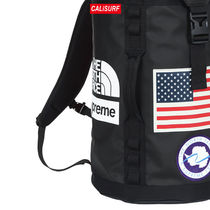 大人気コラボ☆ Supreme x TNF Big Haul Backpack/ BLACK