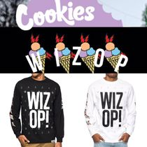 Tシャツ・カットソー Cookies x Wizop Stacked Wizop Long Sleeve T-Shirt クッキーズ
