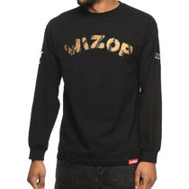 Tシャツ・カットソー Cookies x Wizop Tiger Wizop Black Long Sleeve T-Shirt