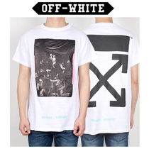 Off-White(オフホワイト) Tシャツ・カットソー Off-White ★ CARAVAGGIO ROUND SHORT SLEEVE TEE WHITE
