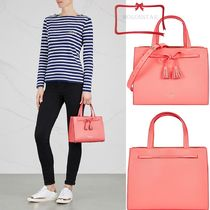 kate spade new york(ケイトスペード) トートバッグ 関税送料無料kate spade new york★レザーミニトート ピンク