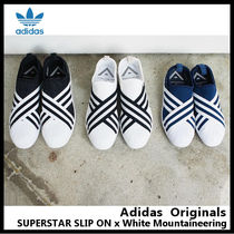 【adidas Originals】SUPERSTAR SLIP ON x White Mountaineering