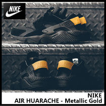 【NIKE ナイキ】AIR HUARACHE - Metallic Gold 318429-025
