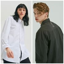日本未入荷ADDのOVER FIT LONG SHIRTS 全2色